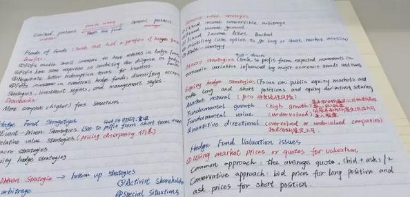 10ACFA学姐晒出CFA一级考后笔记,看完通过率又高了......