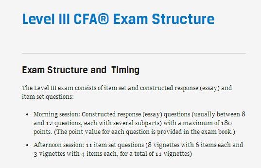 2019CFA协会新通知:2019年CFA二三级考试案例数定了!
