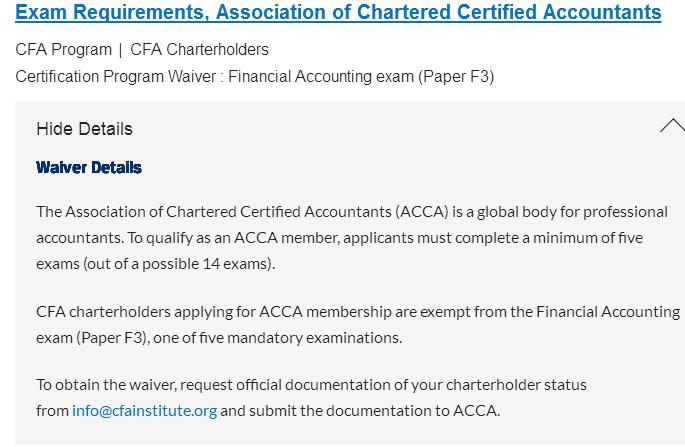 CFA考证豁免有哪些,CFA考生太赚了!