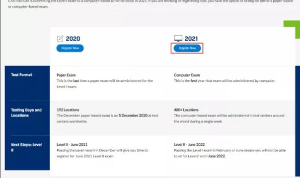 2021年CFA机考报名详细流程,新版cfa报考指南!