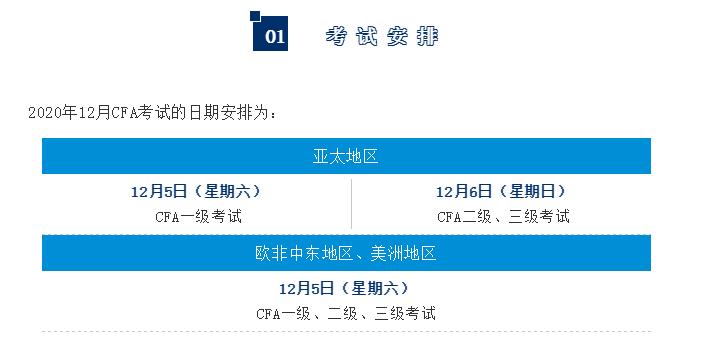 12月CFA疫情期间考试注意事项[详细版]